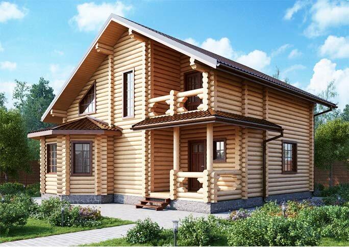 Строительство деревянных домов под ключ в Москве и Московской